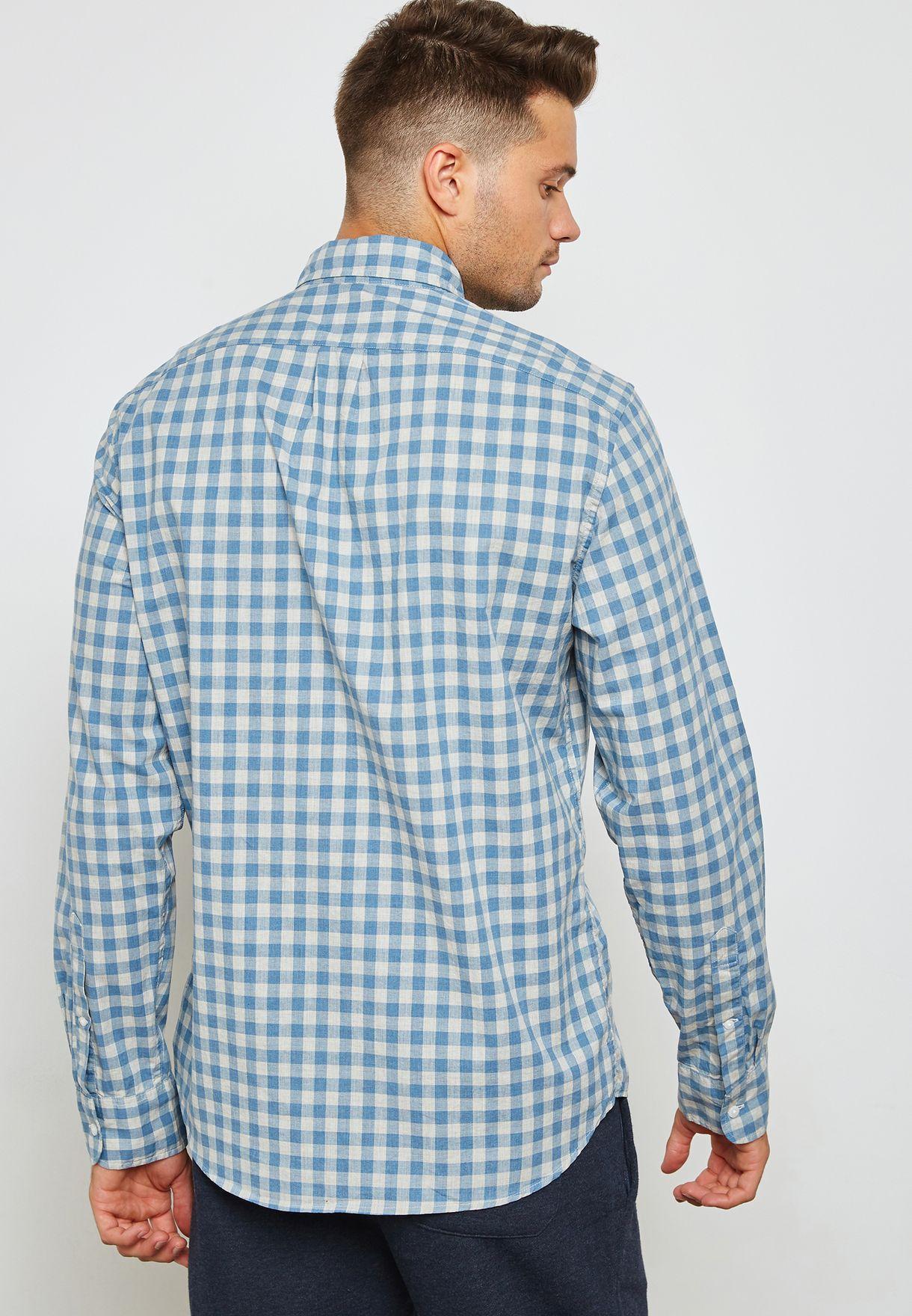 قميص بقصة ضيقة (سليم فيت)