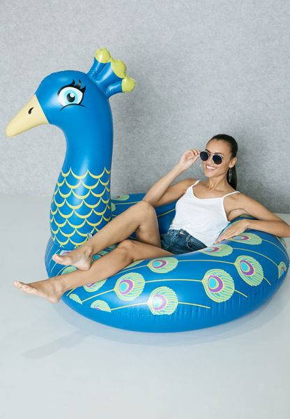 Peacock Pool Float
