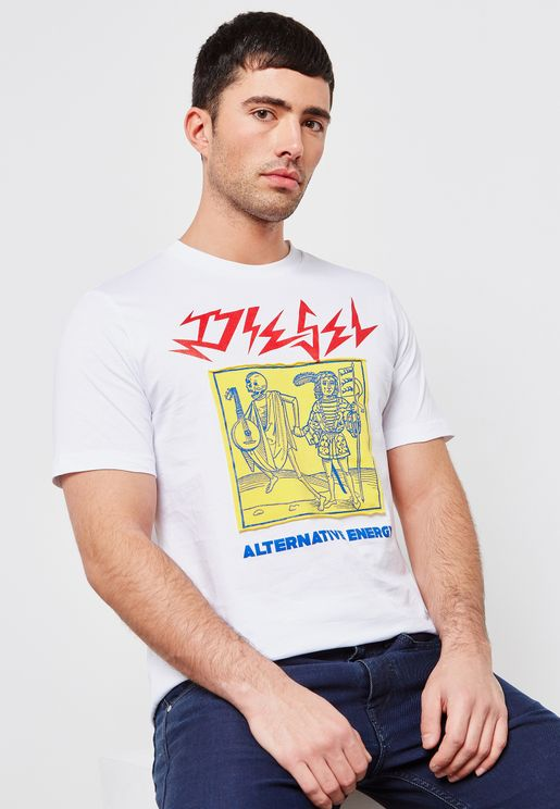 Just Graphic Printed T-Shirt