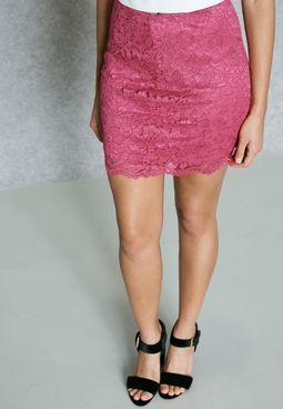 Scallop Lace Skirt