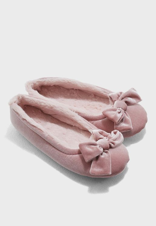 Velvet Ballet Slip On