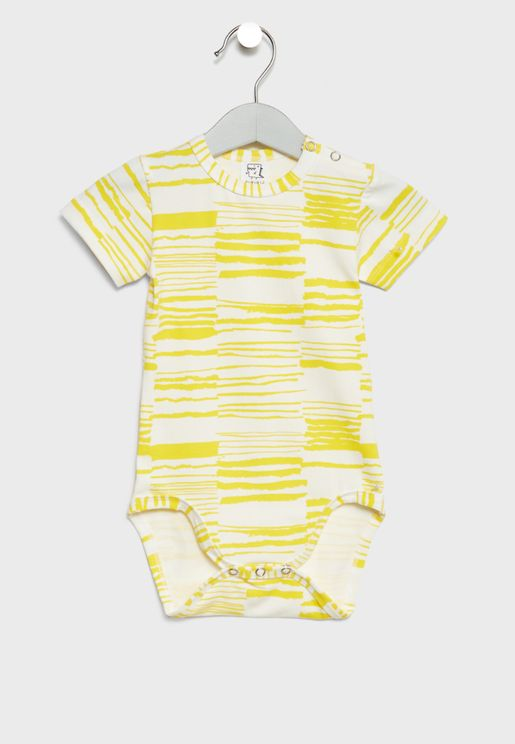 Infant Striped Bodysuit