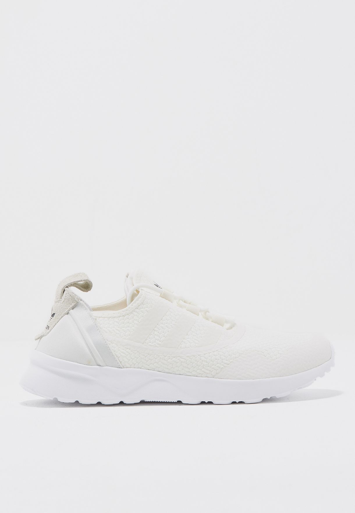 83cdcaa7f Shop adidas Originals white ZX Flux ADV Virtue CG4092 for Women in ...