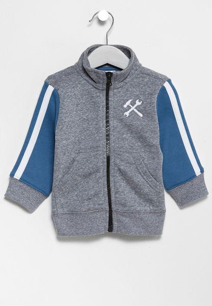 Infant Zip Through Sweatshirt