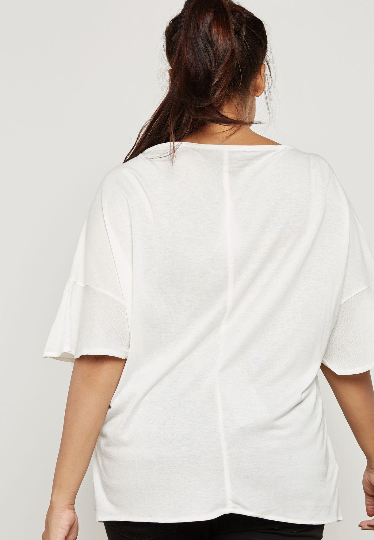Tassel Detail T-Shirt
