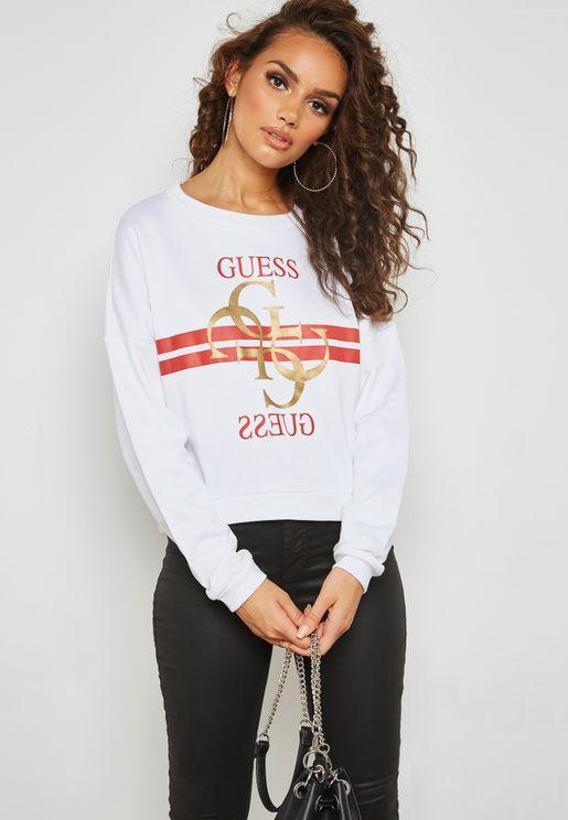 Guess Logo Sweatshirt