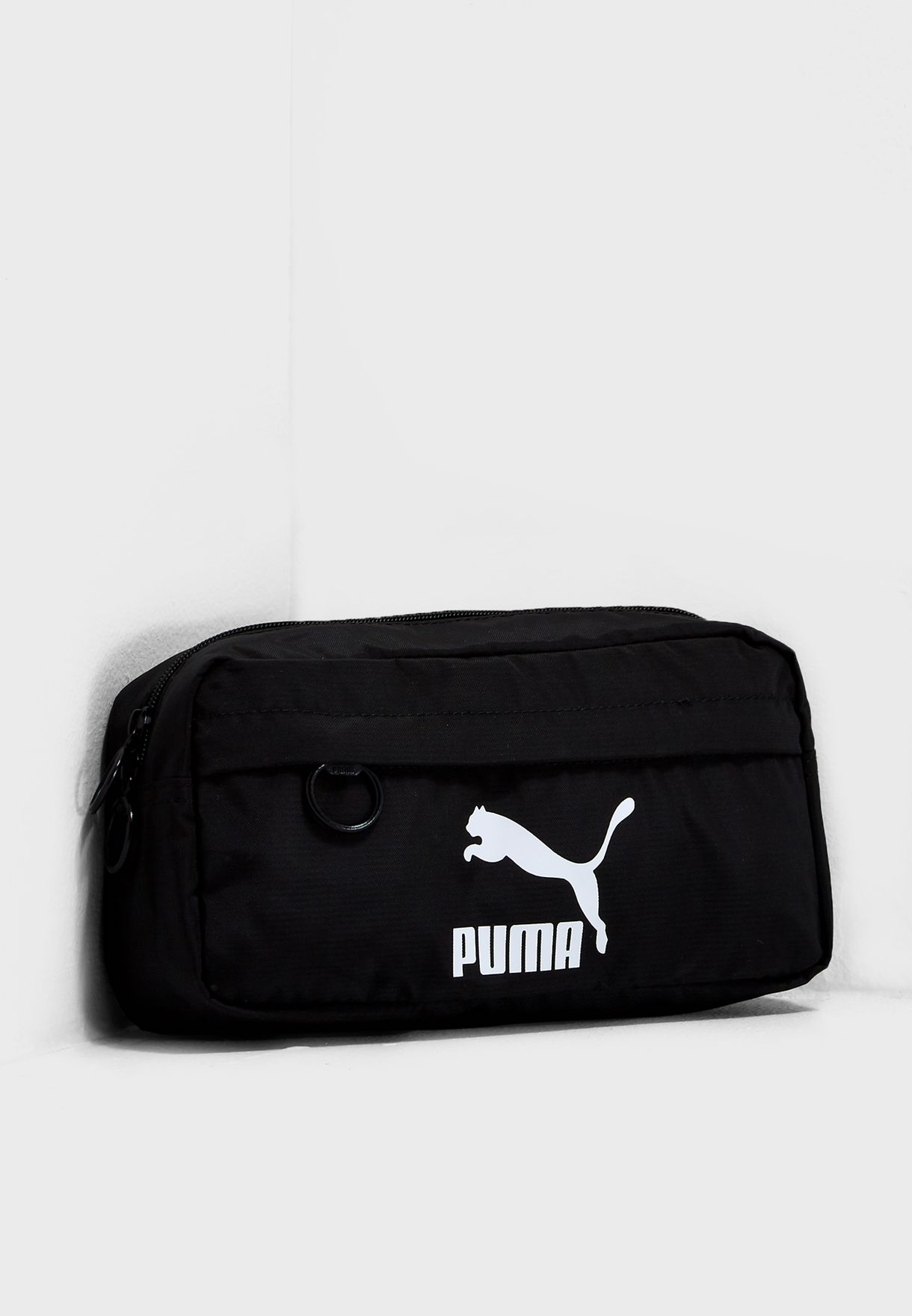 6e3e94d9aac6 Shop PUMA black Originals Bum Bag 07607101 for Men in Saudi - PU020AC75BBW