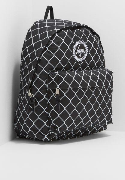 Mesh Fence Backpack