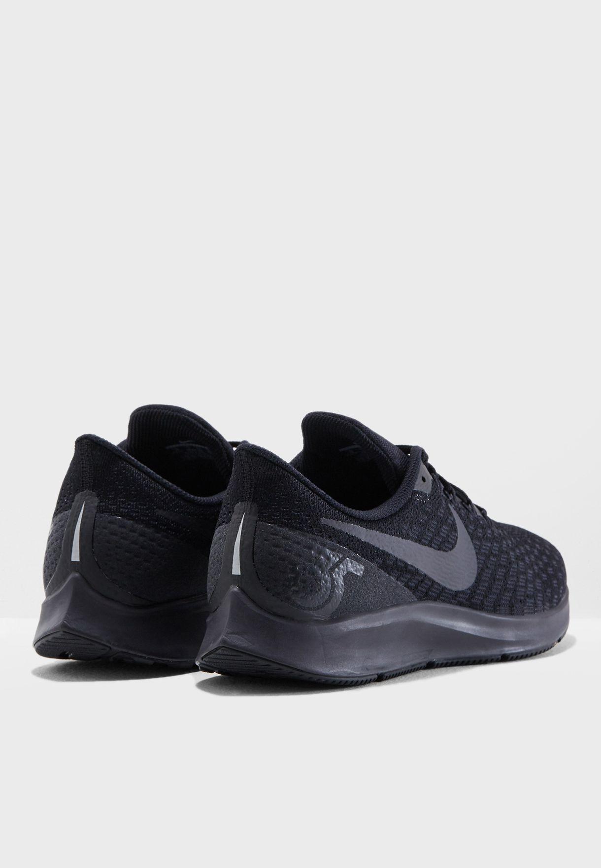 a0f864ec760f Shop Nike black Air Zoom Pegasus 35 942851-002 for Men in Saudi ...