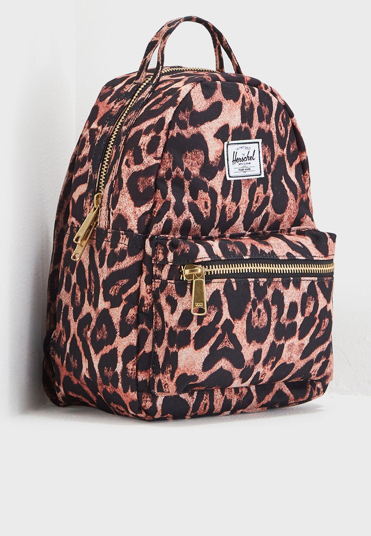 53d6b274658 Shop Herschel prints Mini Nova Backpack 10501-02110-OS for Women in ...