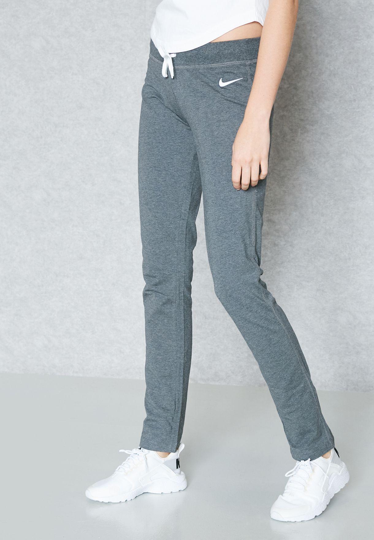 Shop Nike grey Jersey Open Hem Pants 614920-071 for Women in Bahrain -  NI727AT75HFG 5c47f0a78
