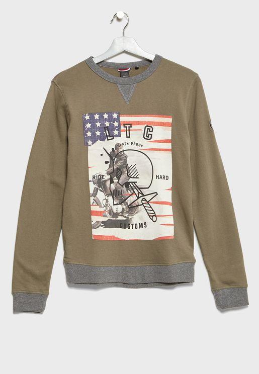 Teen Graphic Sweatshirt