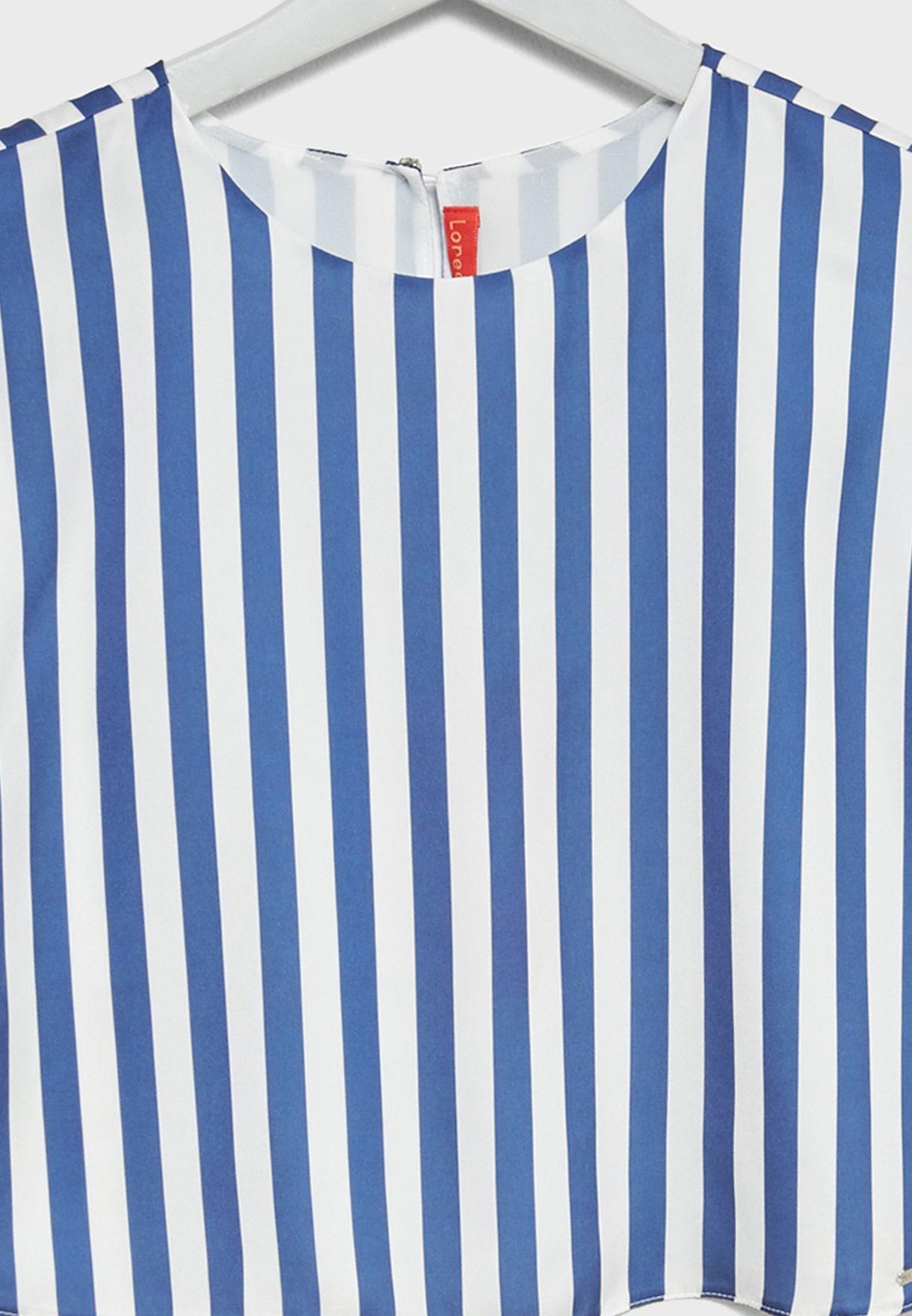 Teen Striped Top