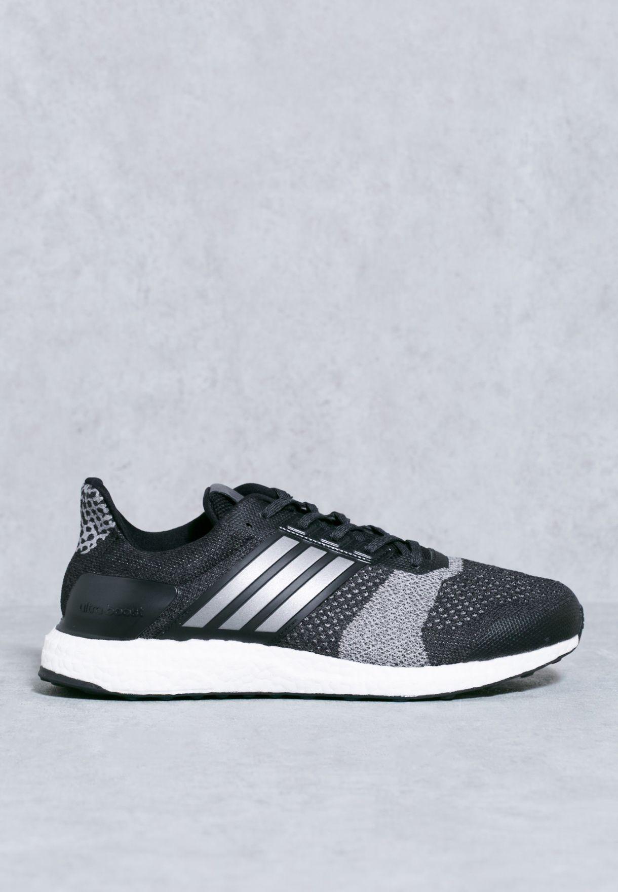 f2432224b3554 Shop adidas black Ultraboost ST BA7838 for Men in UAE - AD476SH75POI