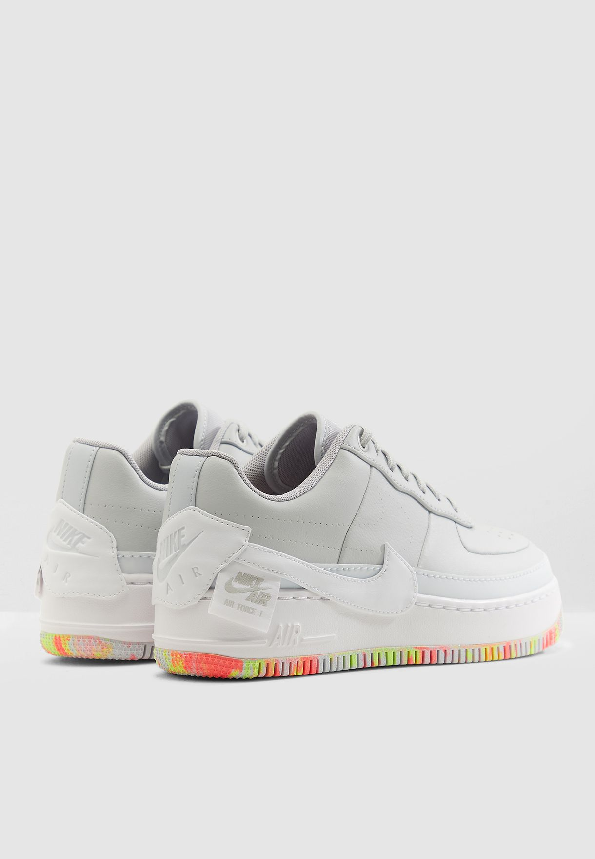 ec395c96970e Shop Nike multicolor Air Force 1 Jester XX Print AV2461-001 for ...