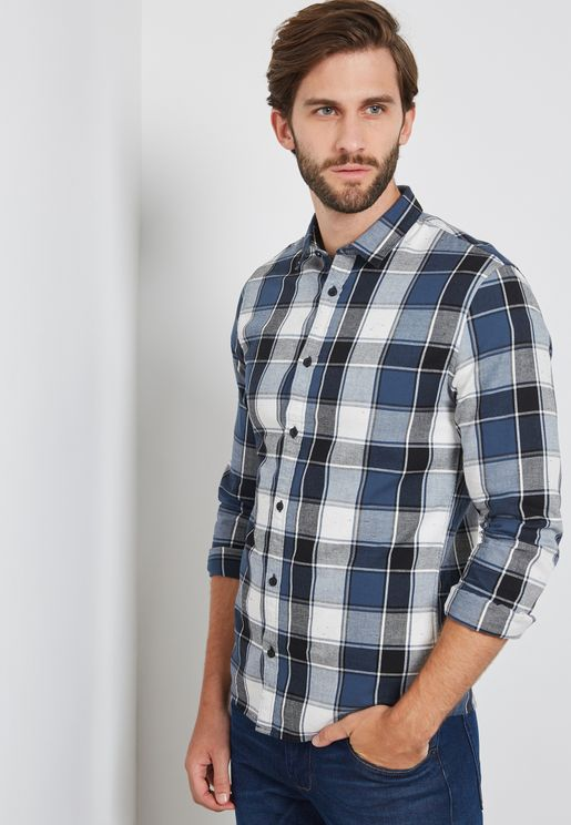 Kedric Napp Checked Shirt