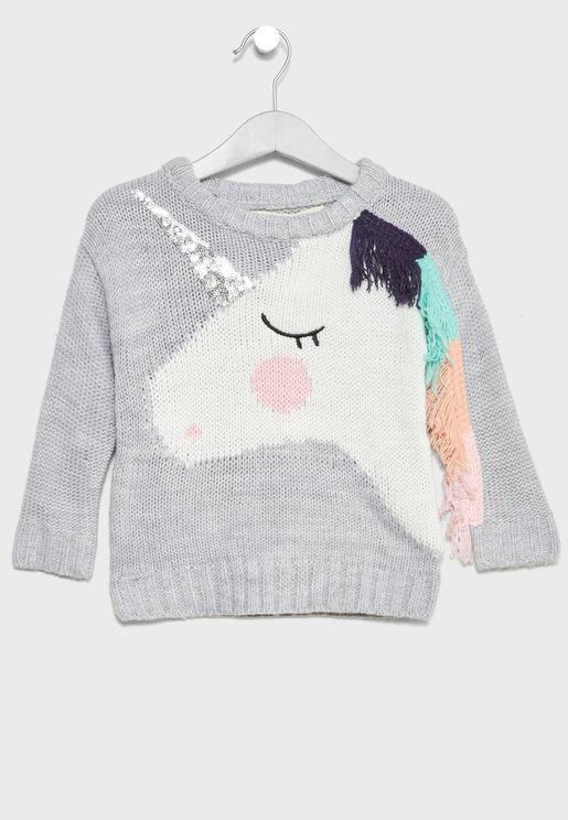 Little Unicorn Sweater