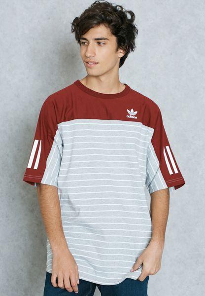 Striped Block T-Shirt