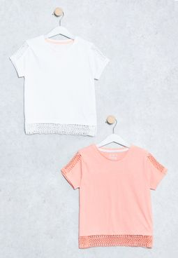Tween 2 Pack Essential T-Shirts