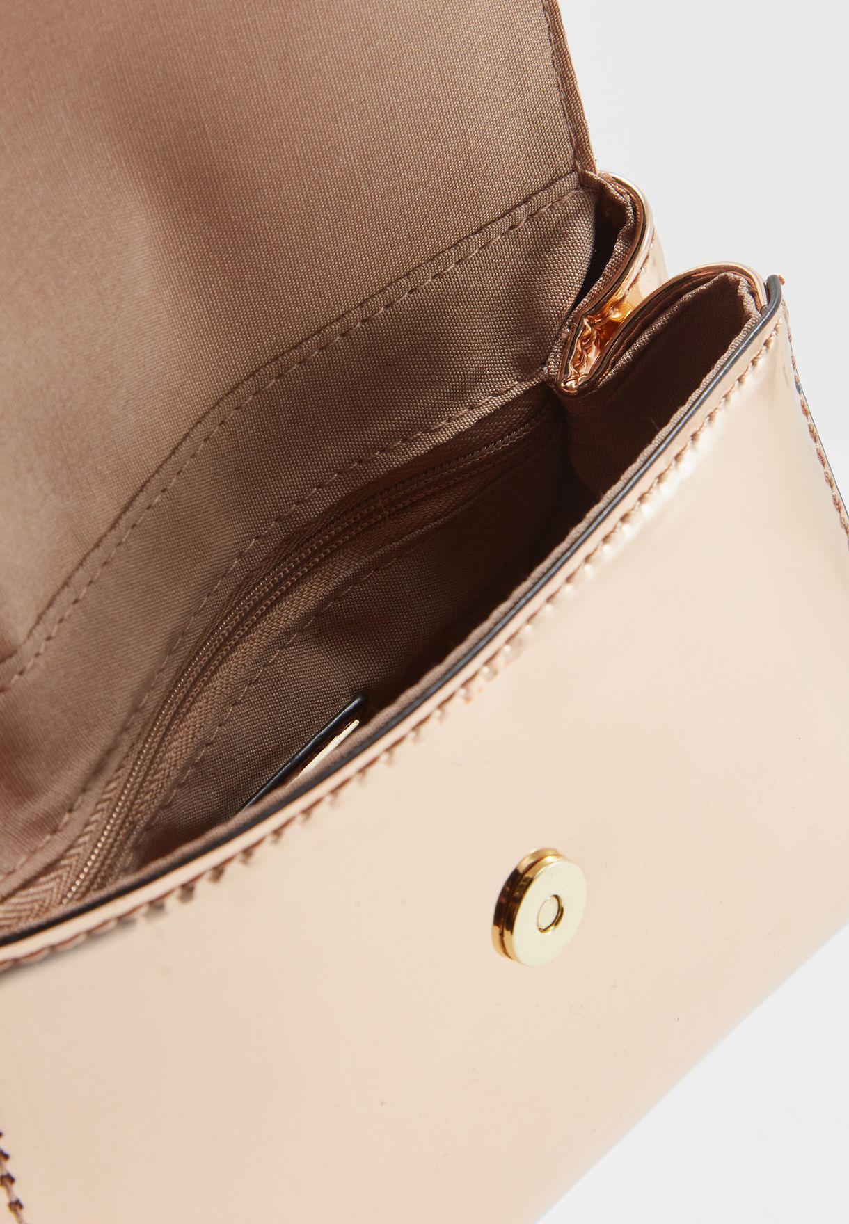 6c36f957b82 Shop Aldo gold Inloving Satchel INLOVING56 for Women in UAE ...