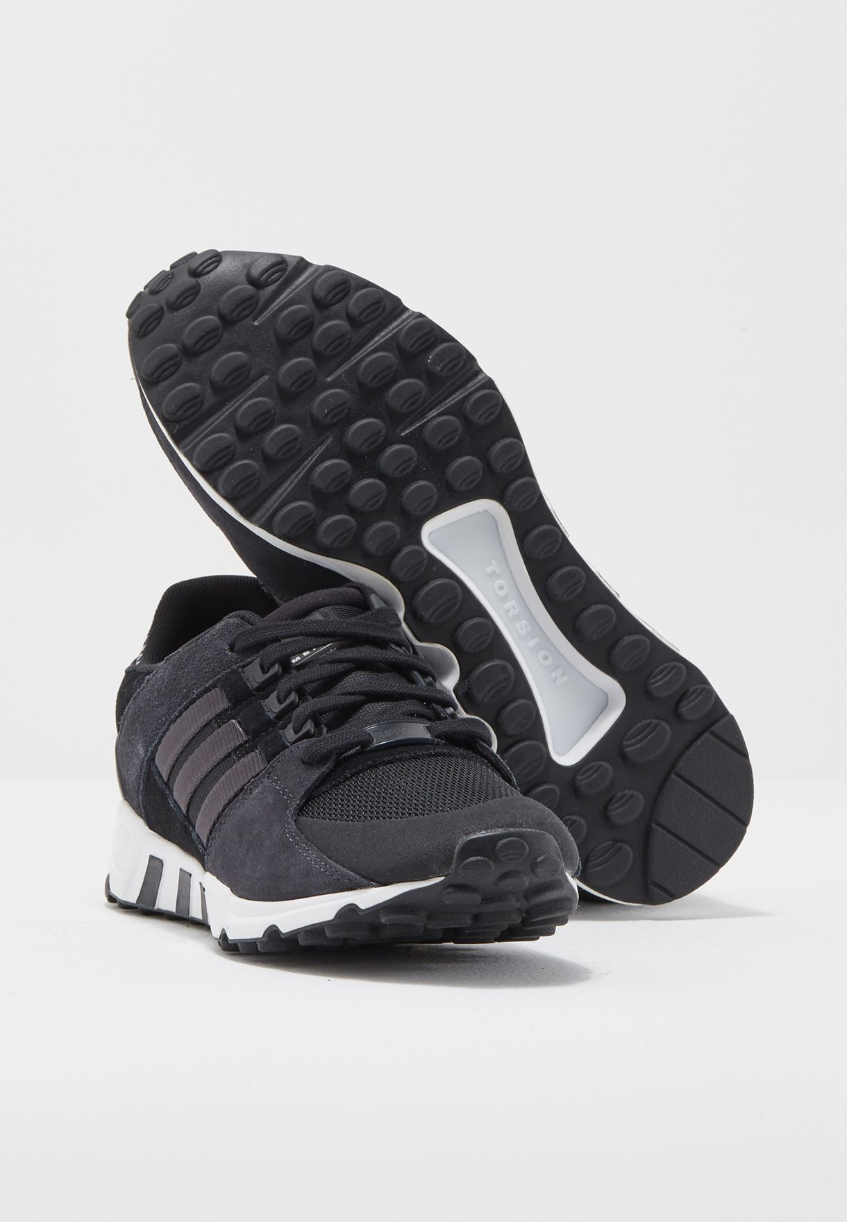brand new 144f4 ee246 Shop adidas Originals black EQT Support RF BY9623 for Men in