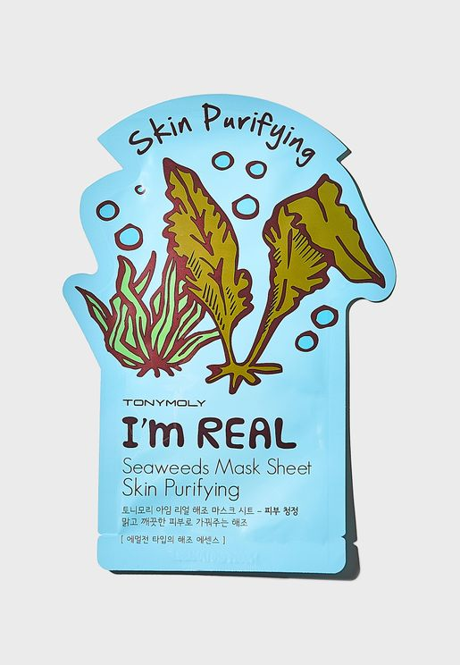 I Am Real Seaweeds Mask