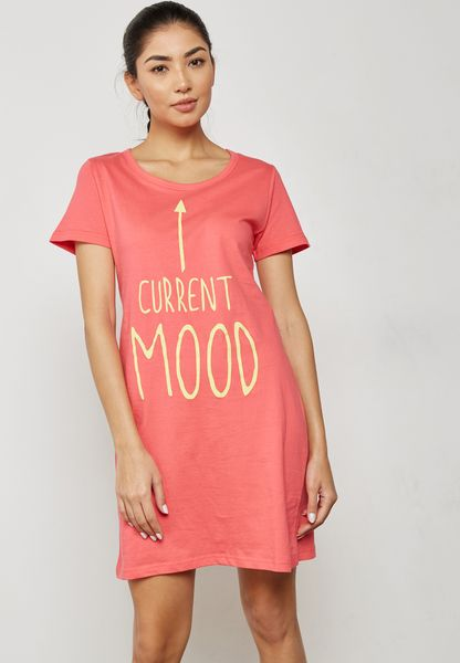 Slogan Nightdress