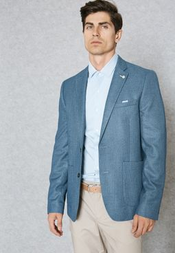 Crosshatch Blazer