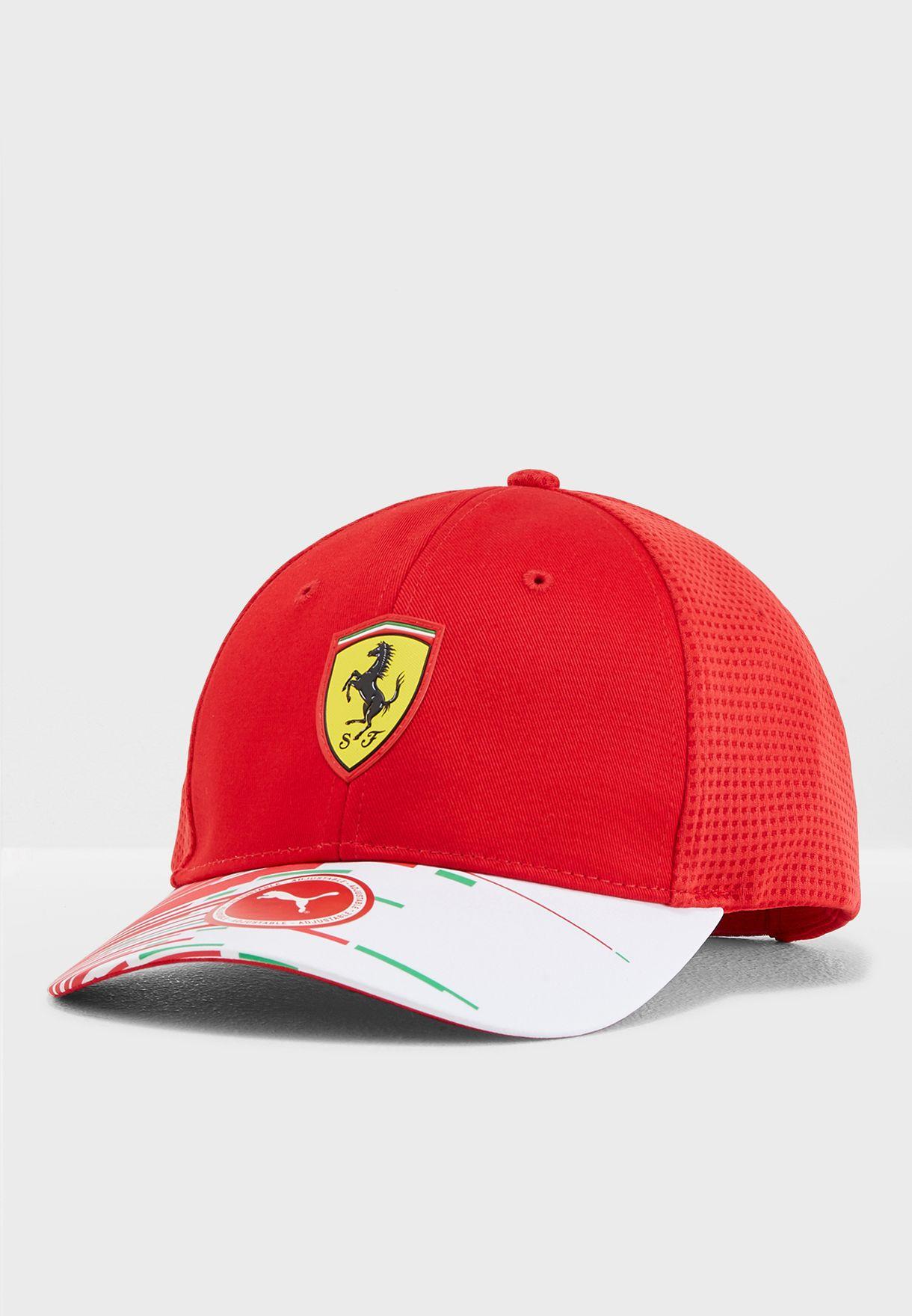 619d6b36 Shop PUMA red Ferrari Replica Cap 2153601 for Men in Qatar ...