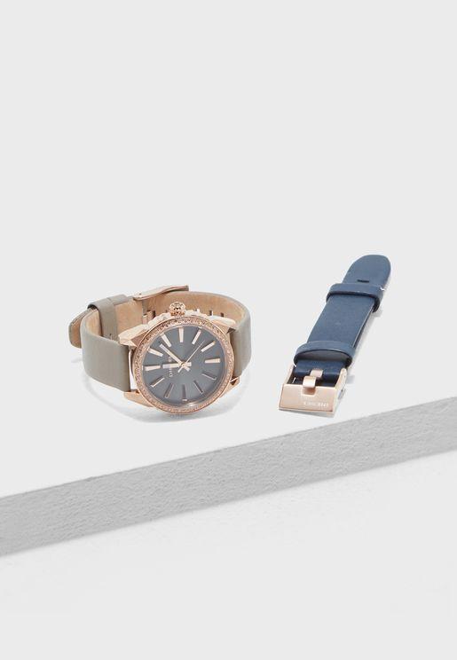 Nuki Interchangeable Straps  Watch