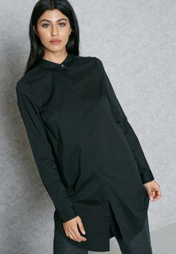 قميص بحافة طويلة