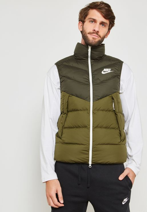 Down Fill Padded Gilet