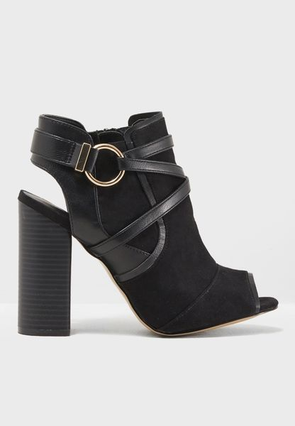 Dott Peep Toe Boot