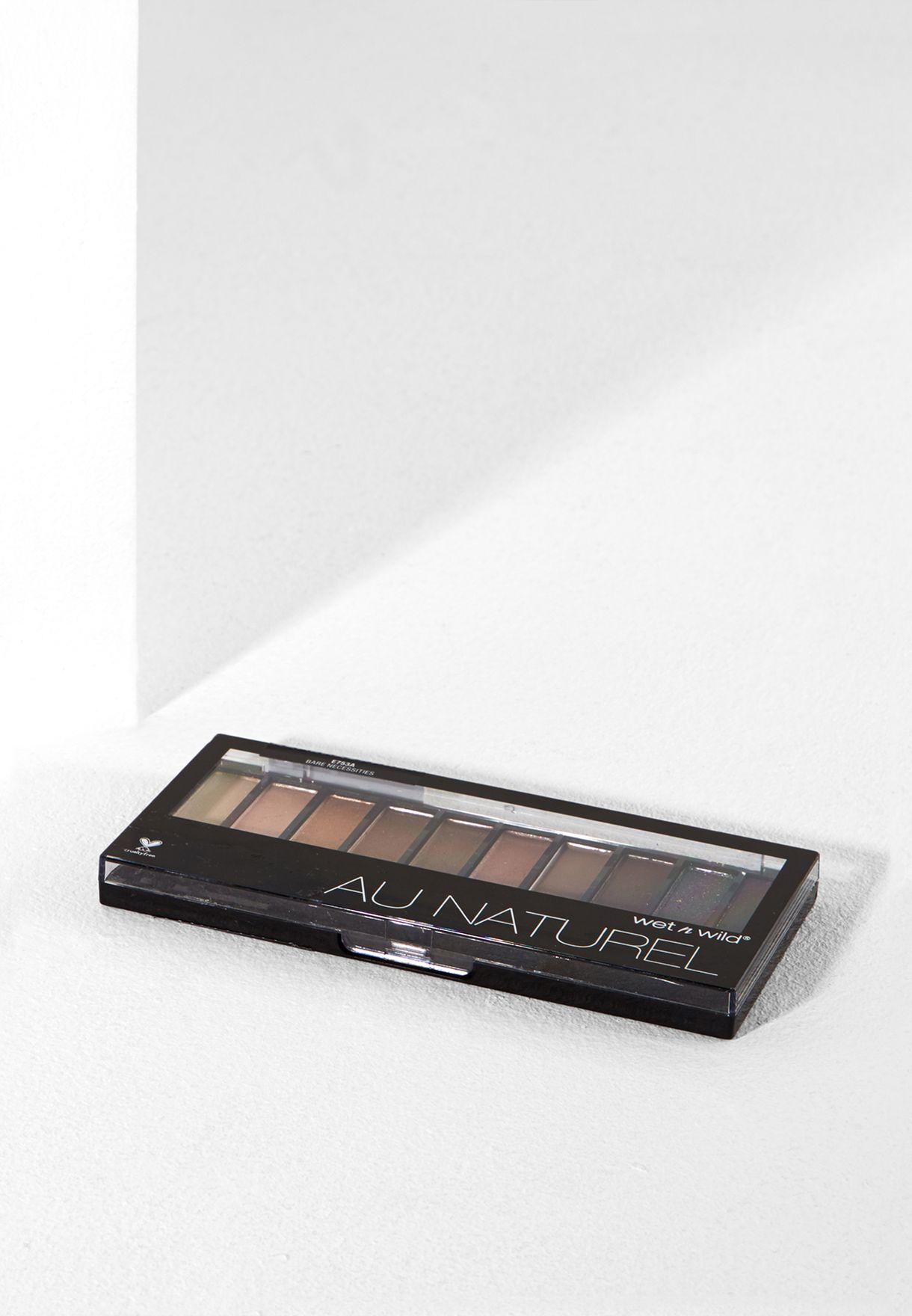 Shop Wet N Wild Neutrals Bare Necessities 10 Pan Eyeshadow Palette Au Naturel