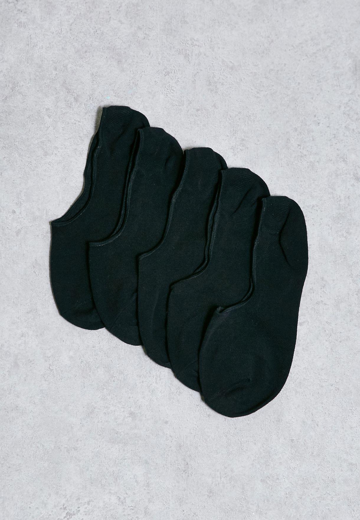Basic 5 Pack Multi Short Socks