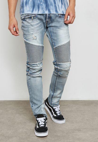 Pines Biker Jeans