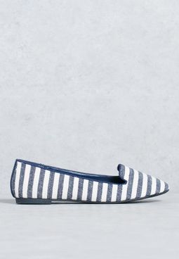 Stripped Slip On