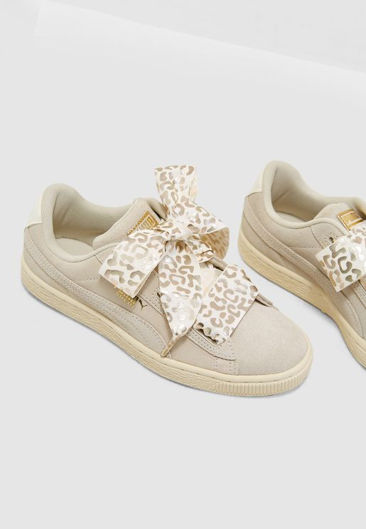 Youth Suede Heart AthLuxe