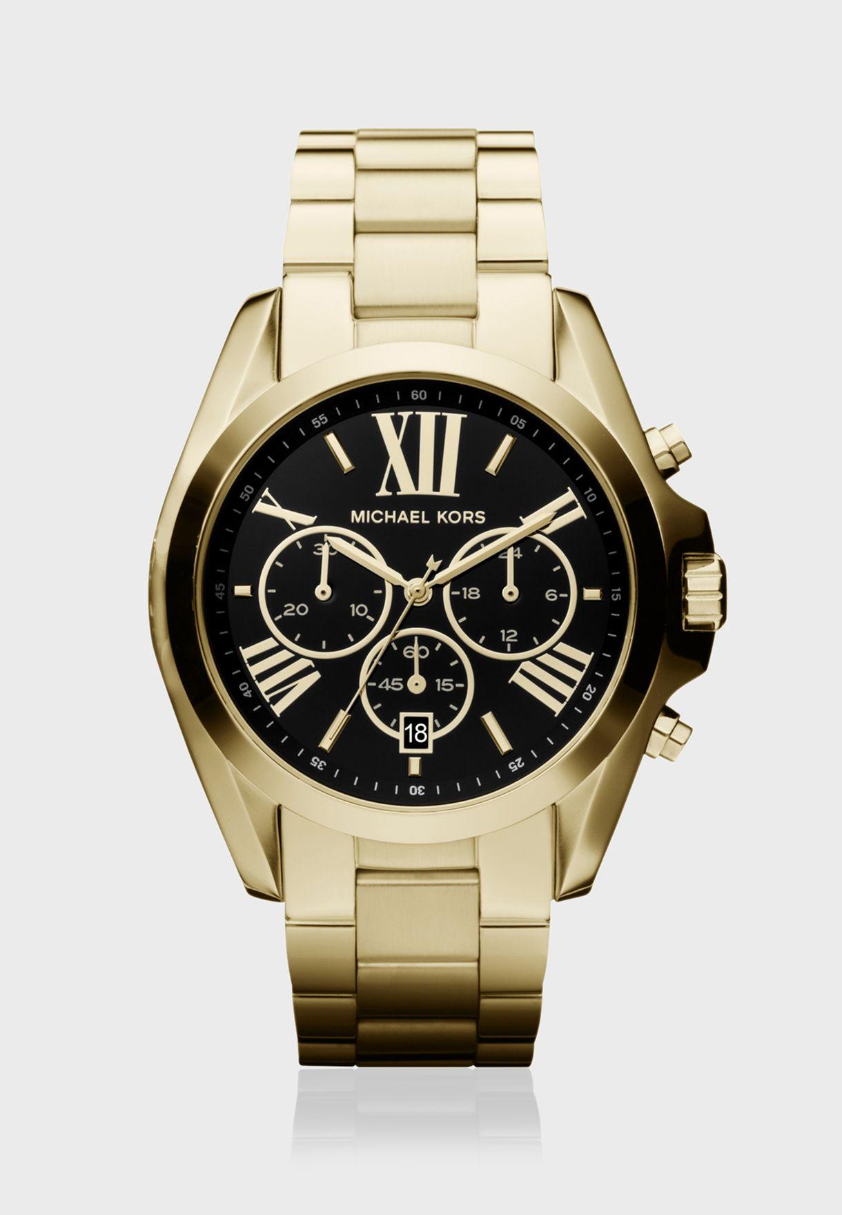 4fc26efbf تسوق ساعة كلاسيكية ماركة مايكل كورس لون ذهبي MK5739 في السعودية ...