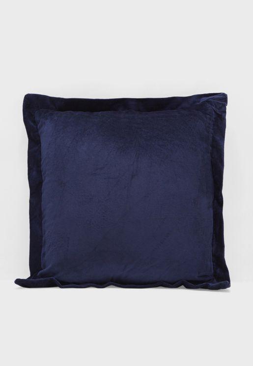 Sapphire Velvet Cushion With Insert 45x45cm