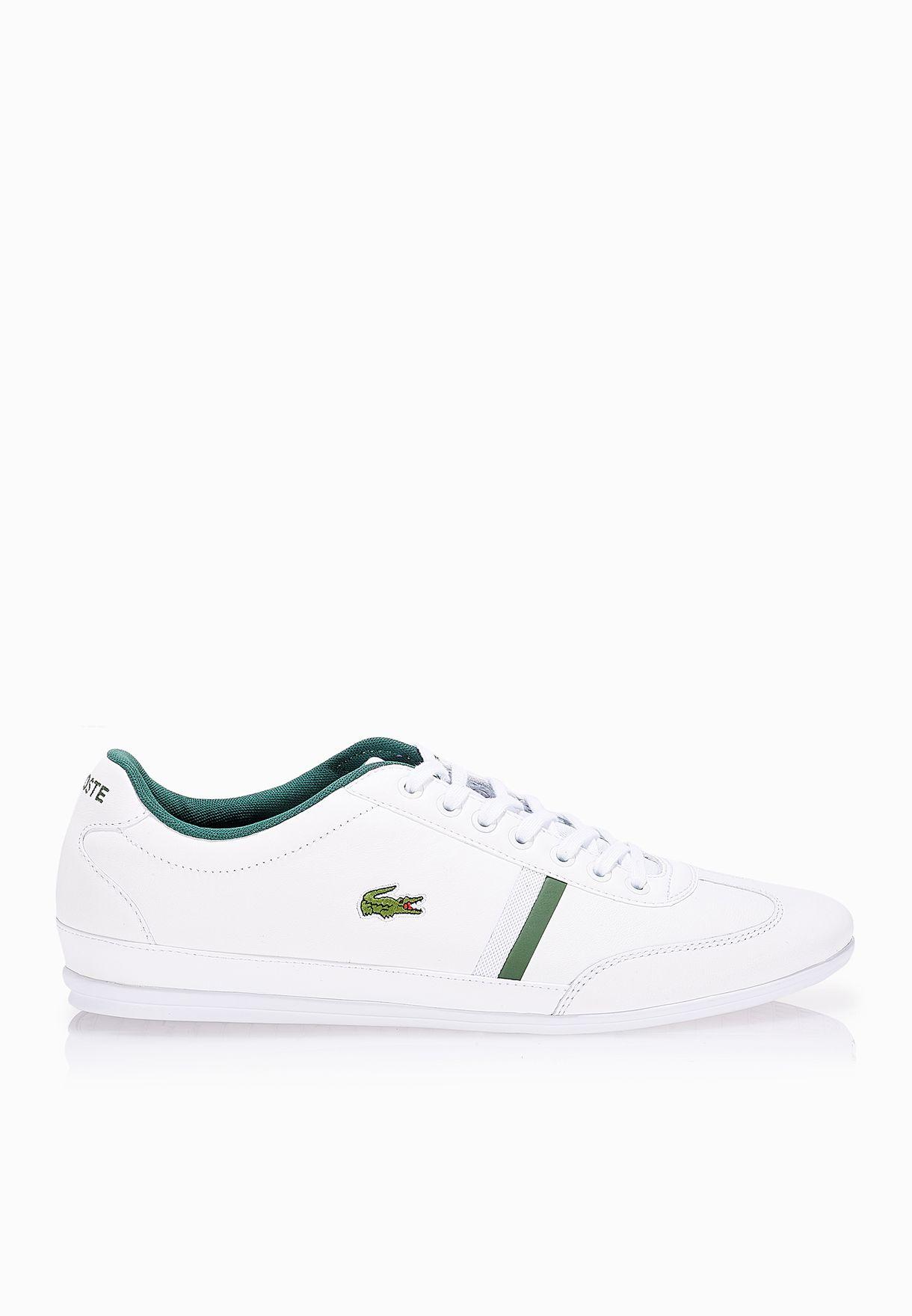 cfb6efcc4dcde Shop Lacoste white Misano Sport 116 1 Sneakers 31SPM0030-001 for Men ...