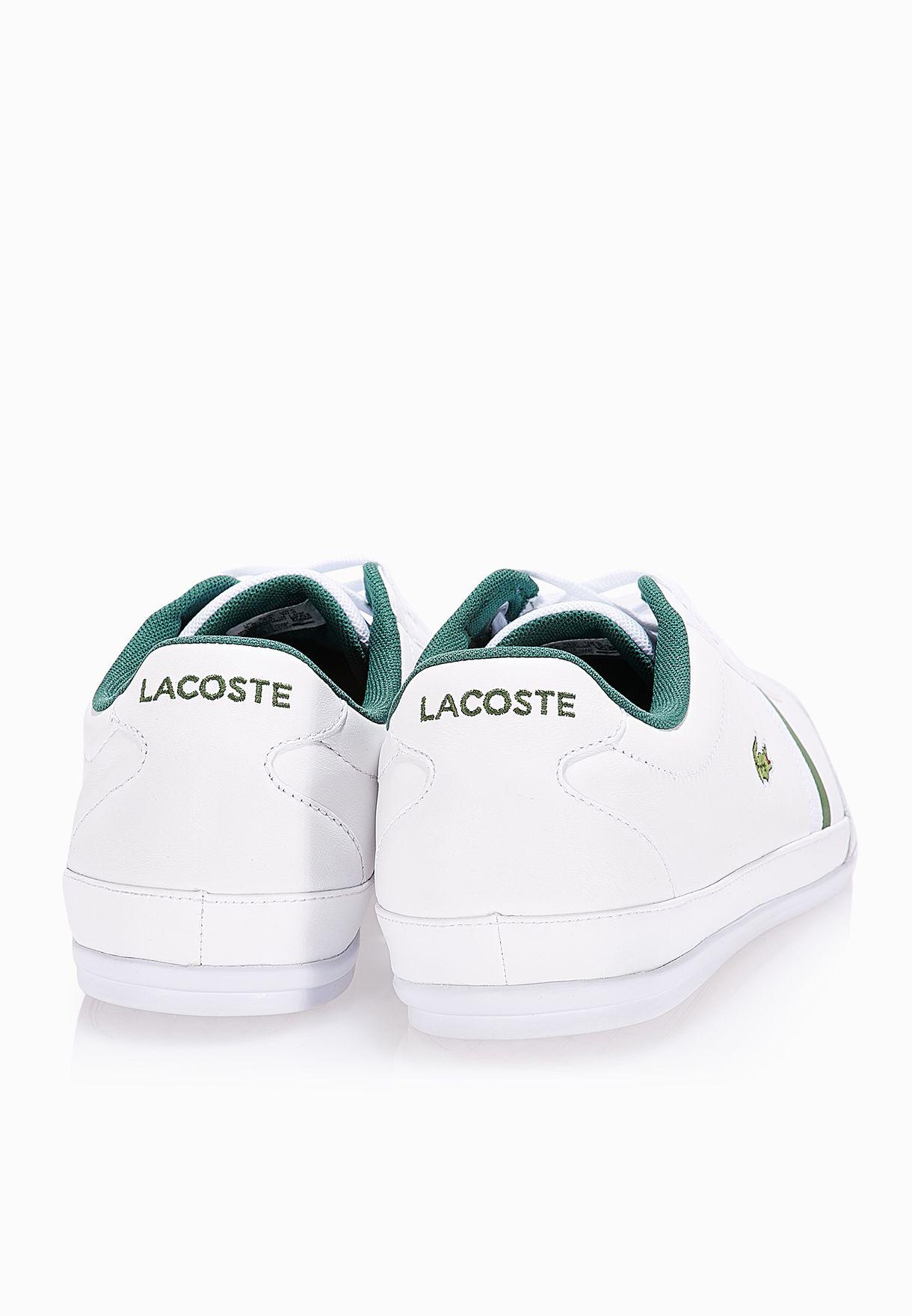 4734bd0ebf7293 Shop Lacoste white Misano Sport 116 1 Sneakers 31SPM0030-001 for Men ...