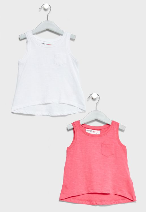 Infant 2 Pack Tank Tops