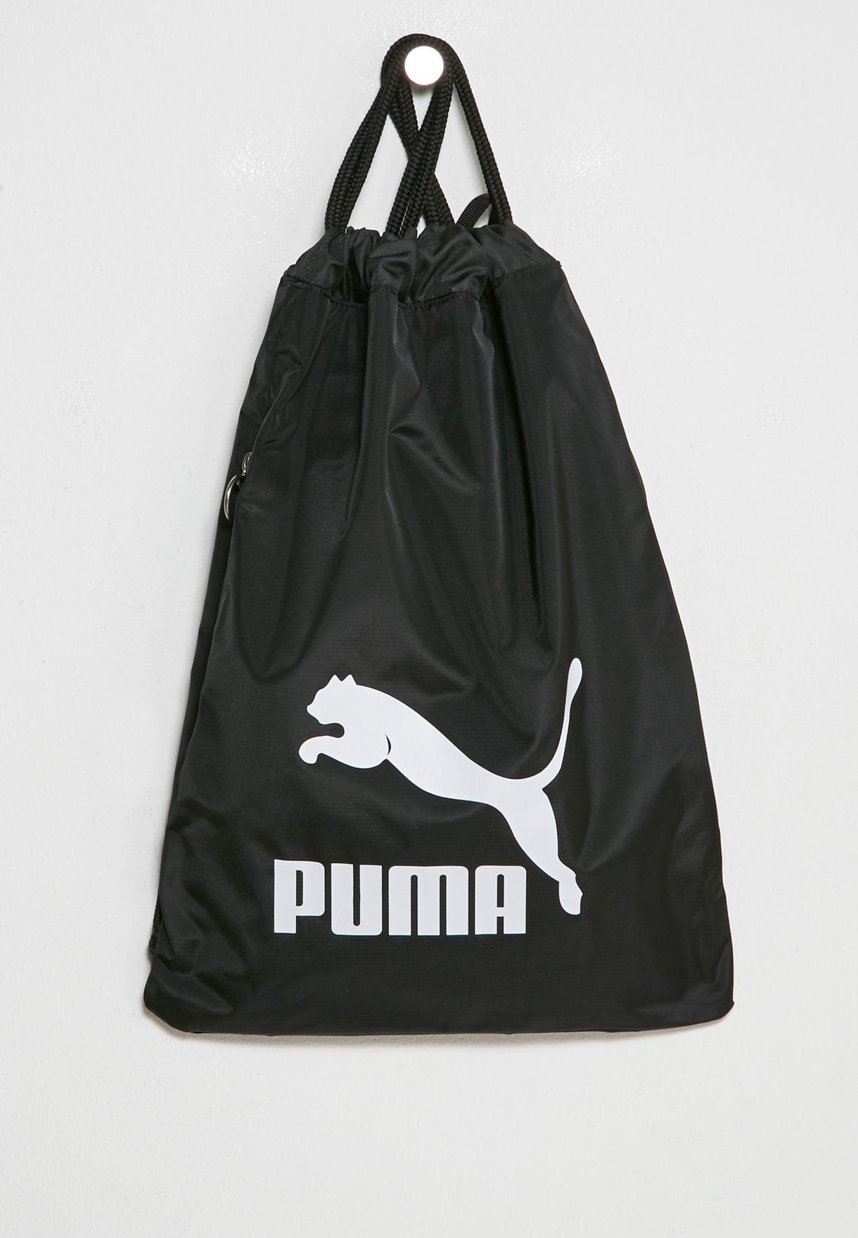 07f238415d01 Shop PUMA black Originals Gymsack 7481201 for Men in UAE - PU020AC65FYO