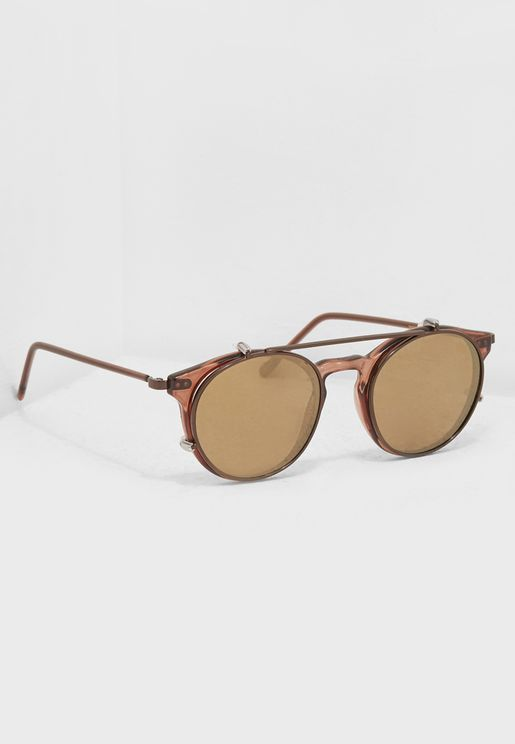 Clip3 Aviator Sunglasses