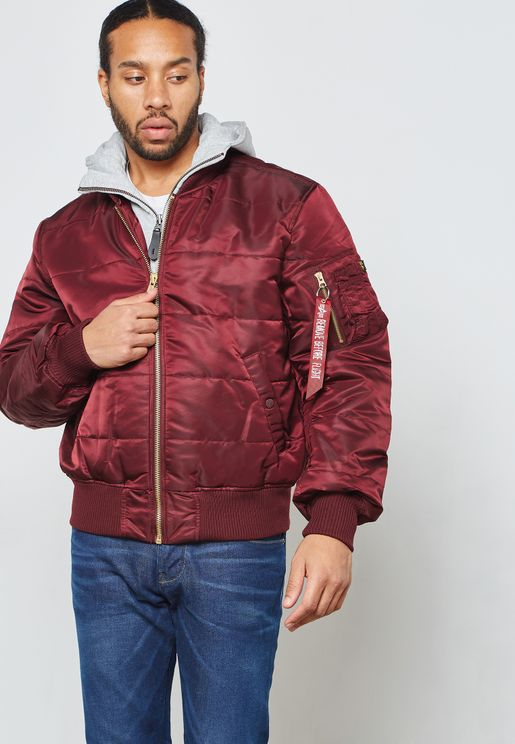MA-1 D-Tec Puffer Hooded Jacket