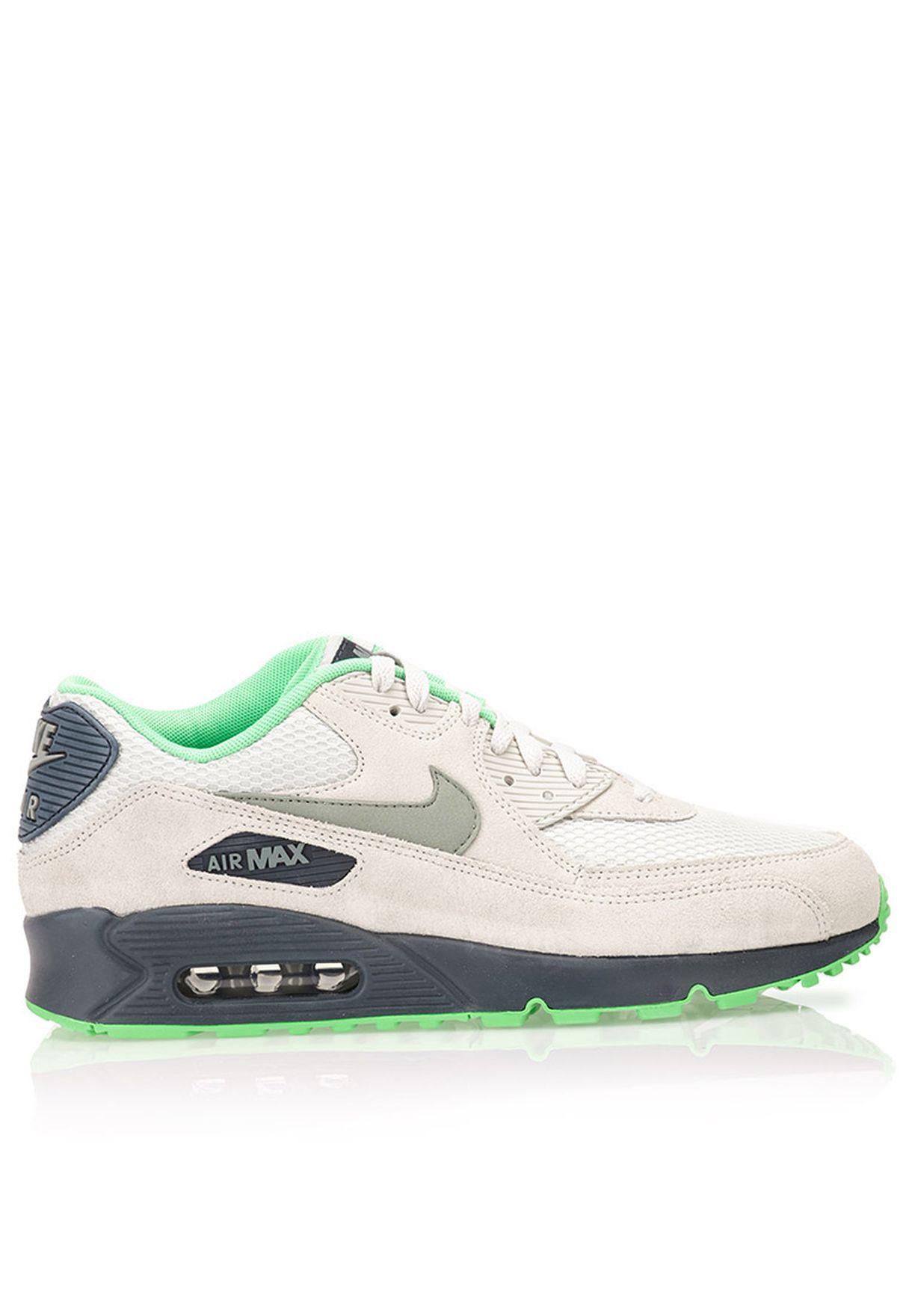 1ded7ed7befc2 Shop Nike grey Air Max 90 Essential 537384-043 for Men in UAE ...