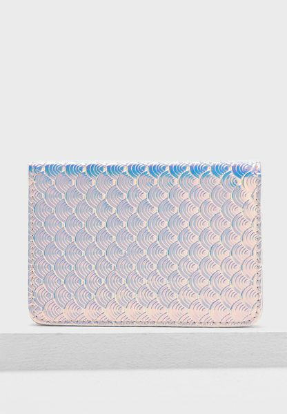 Scale Holographic Passport Holder