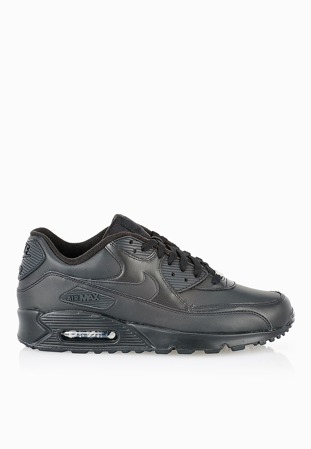 ececea23d0 Shop Nike black Air Max 90 Leather 302519-001 for Men in Bahrain ...