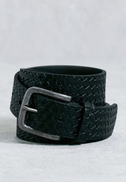 Weave Embossed Belt